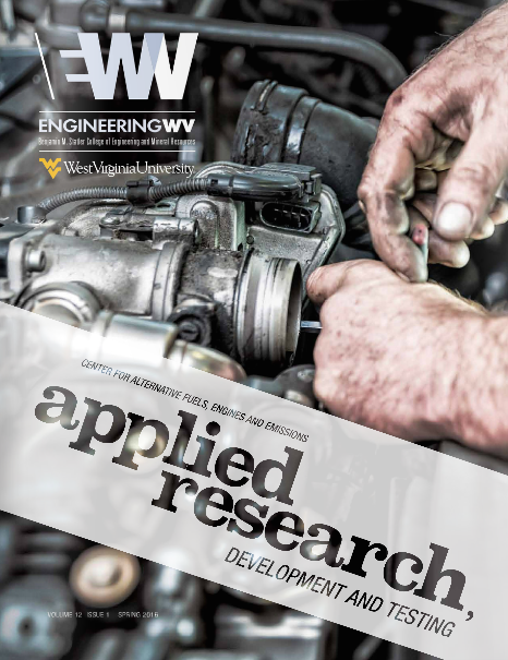 Engineering WV Spring Magazine Cover